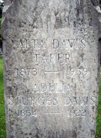 TABER, ALTA - Schenectady County, New York | ALTA TABER - New York Gravestone Photos
