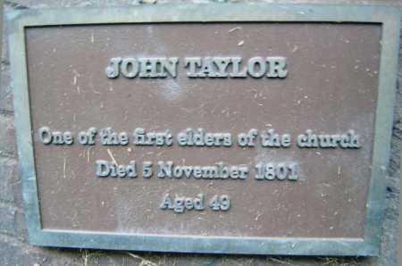 TAYLOR, JOHN - Schenectady County, New York | JOHN TAYLOR - New York Gravestone Photos