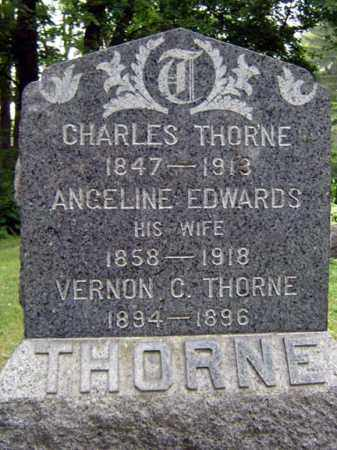 THORNE, VERNON C - Schenectady County, New York | VERNON C THORNE - New York Gravestone Photos