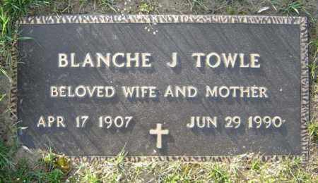 TOWLE, BLANCHE J - Schenectady County, New York | BLANCHE J TOWLE - New York Gravestone Photos