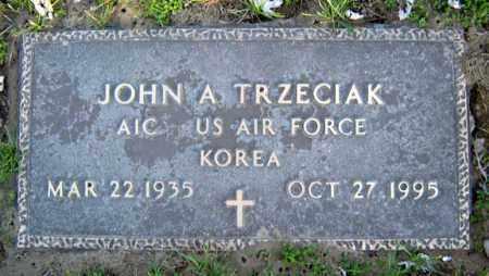 TRZECIAK, JOHN A - Schenectady County, New York   JOHN A TRZECIAK - New York Gravestone Photos