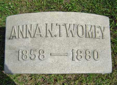 TWOMEY, ANNA N - Schenectady County, New York | ANNA N TWOMEY - New York Gravestone Photos