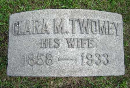 TWOMEY, CLARA M - Schenectady County, New York | CLARA M TWOMEY - New York Gravestone Photos