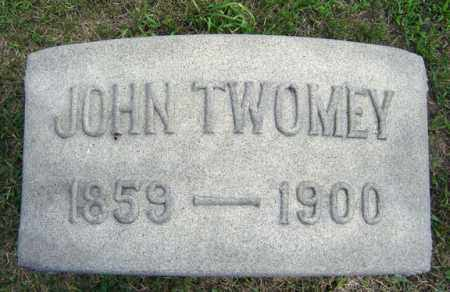 TWOMEY, JOHN - Schenectady County, New York | JOHN TWOMEY - New York Gravestone Photos