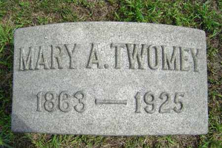 TWOMEY, MARY A - Schenectady County, New York | MARY A TWOMEY - New York Gravestone Photos