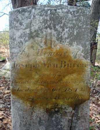 VAN BUREN, JOSEPH - Schenectady County, New York | JOSEPH VAN BUREN - New York Gravestone Photos