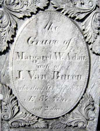 VAN BUREN, MARGARET W - Schenectady County, New York | MARGARET W VAN BUREN - New York Gravestone Photos