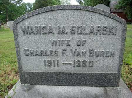 VAN BUREN, WANDA M - Schenectady County, New York | WANDA M VAN BUREN - New York Gravestone Photos