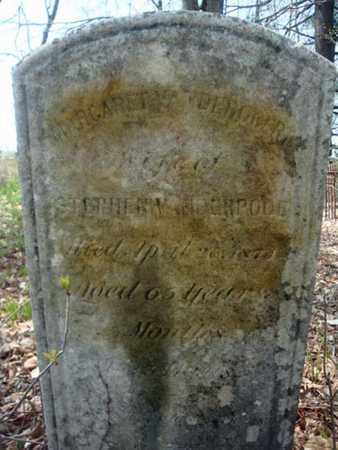 VAN DERPOOL, MARGARET - Schenectady County, New York   MARGARET VAN DERPOOL - New York Gravestone Photos
