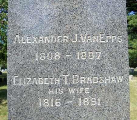 VAN EPPS, ELIZABETH T - Schenectady County, New York | ELIZABETH T VAN EPPS - New York Gravestone Photos
