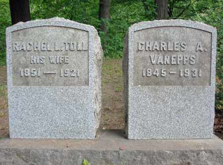 TOLL VAN EPPS, RACHEL L - Schenectady County, New York | RACHEL L TOLL VAN EPPS - New York Gravestone Photos