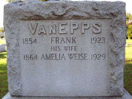 VAN EPPS, FRANK - Schenectady County, New York | FRANK VAN EPPS - New York Gravestone Photos