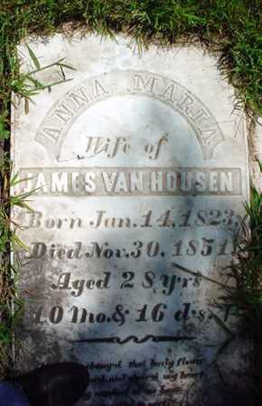 VAN HOUSEN, ANNA MARIA - Schenectady County, New York | ANNA MARIA VAN HOUSEN - New York Gravestone Photos