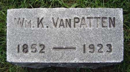 VAN PATTEN, WILLIAM K - Schenectady County, New York | WILLIAM K VAN PATTEN - New York Gravestone Photos