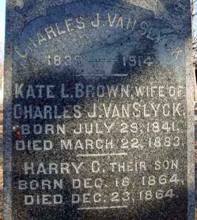 VAN SLYCK, HARRY C - Schenectady County, New York | HARRY C VAN SLYCK - New York Gravestone Photos