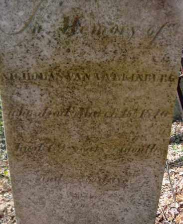 VAN VALKENBURGH, NICHOLAS - Schenectady County, New York   NICHOLAS VAN VALKENBURGH - New York Gravestone Photos