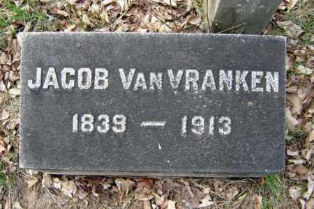 VAN VRANKEN, JACOB - Schenectady County, New York | JACOB VAN VRANKEN - New York Gravestone Photos