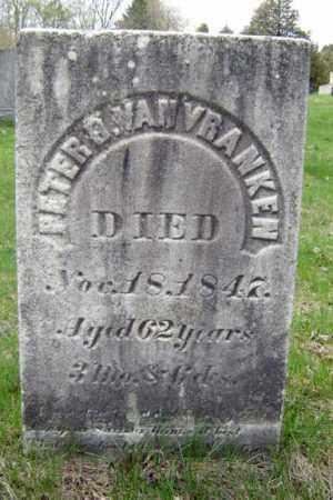 VAN VRANKEN, PETER D - Schenectady County, New York | PETER D VAN VRANKEN - New York Gravestone Photos