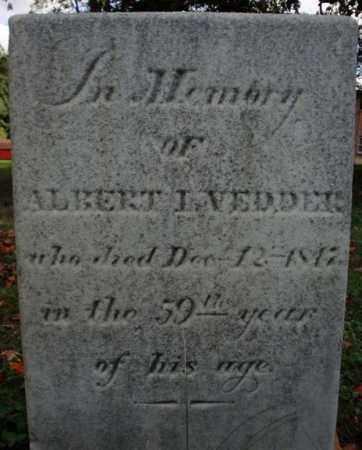 VEDDER, ALBERT I - Schenectady County, New York | ALBERT I VEDDER - New York Gravestone Photos