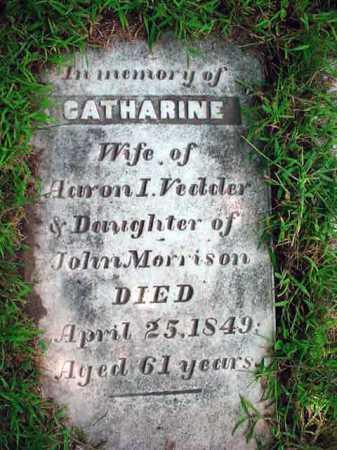 VEDDER, CATHARINE - Schenectady County, New York | CATHARINE VEDDER - New York Gravestone Photos