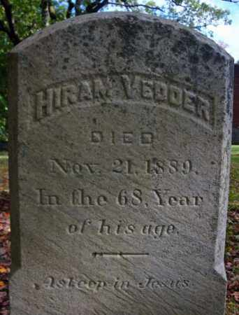 VEDDER, HIRAM - Schenectady County, New York | HIRAM VEDDER - New York Gravestone Photos