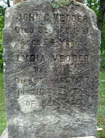 VEDDER, LYDIA - Schenectady County, New York | LYDIA VEDDER - New York Gravestone Photos