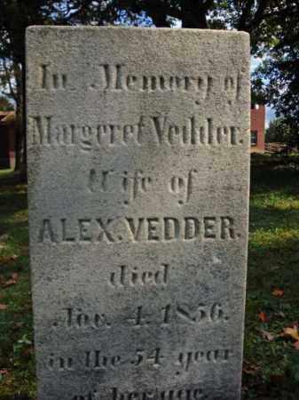 VEDDER, MARGERET - Schenectady County, New York | MARGERET VEDDER - New York Gravestone Photos