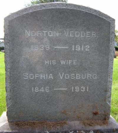 VEDDER, SOPHIA - Schenectady County, New York | SOPHIA VEDDER - New York Gravestone Photos