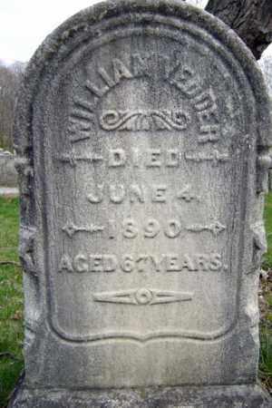 VEDDER, WILLIAM - Schenectady County, New York   WILLIAM VEDDER - New York Gravestone Photos