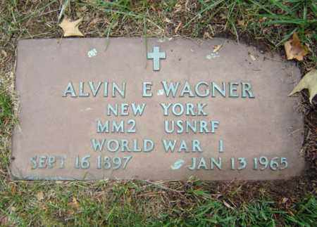 WAGNER (WWI), ALVIN E - Schenectady County, New York | ALVIN E WAGNER (WWI) - New York Gravestone Photos