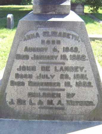 WATKINS, ANNA ELIZABETH - Schenectady County, New York | ANNA ELIZABETH WATKINS - New York Gravestone Photos