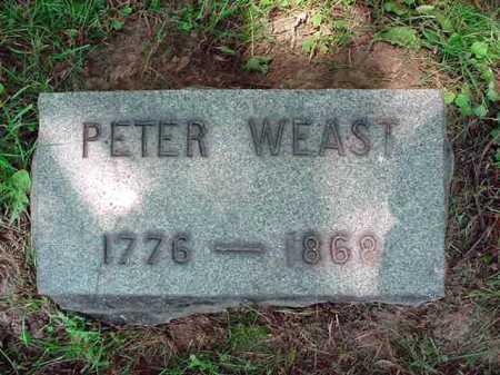 WEAST, PETER - Schenectady County, New York | PETER WEAST - New York Gravestone Photos
