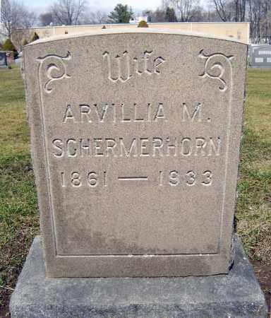 SCHERMERHORN, ARVILLIA M - Schenectady County, New York | ARVILLIA M SCHERMERHORN - New York Gravestone Photos