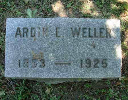 WELLER, ARDIN E - Schenectady County, New York | ARDIN E WELLER - New York Gravestone Photos