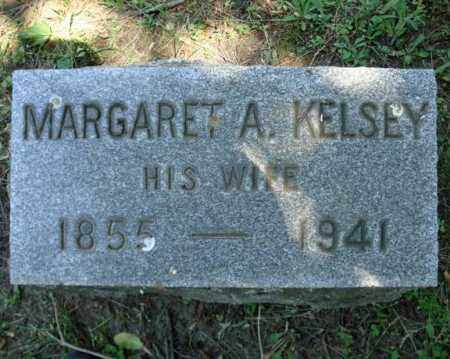 KELSEY, MARGARET A - Schenectady County, New York | MARGARET A KELSEY - New York Gravestone Photos