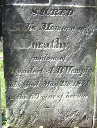 WEMPLE, DORATHY - Schenectady County, New York | DORATHY WEMPLE - New York Gravestone Photos