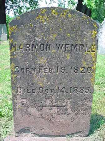 WEMPLE, HARMON - Schenectady County, New York | HARMON WEMPLE - New York Gravestone Photos