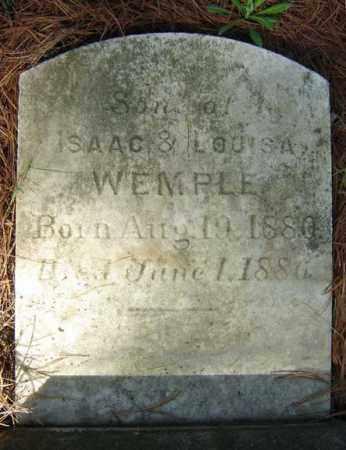 WEMPLE, SON - Schenectady County, New York   SON WEMPLE - New York Gravestone Photos