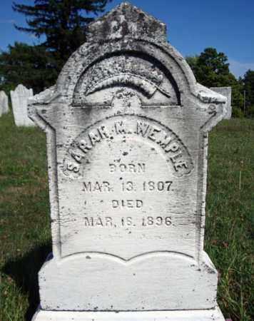 WEMPLE, SARAH M - Schenectady County, New York | SARAH M WEMPLE - New York Gravestone Photos