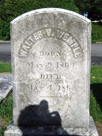 WEMPLE, WALTER V - Schenectady County, New York | WALTER V WEMPLE - New York Gravestone Photos
