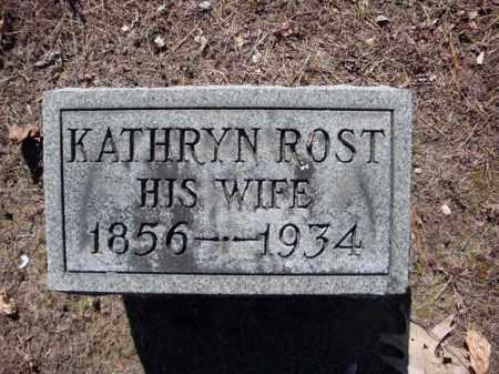 ROST, KATHRYN - Schenectady County, New York | KATHRYN ROST - New York Gravestone Photos