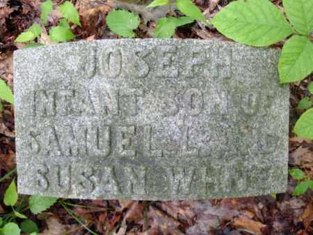 WHITE, JOSEPH - Schenectady County, New York | JOSEPH WHITE - New York Gravestone Photos