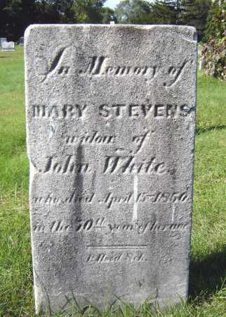 WHITE, MARY - Schenectady County, New York | MARY WHITE - New York Gravestone Photos