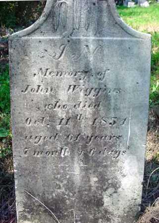 WIGGINS, JOHN - Schenectady County, New York | JOHN WIGGINS - New York Gravestone Photos