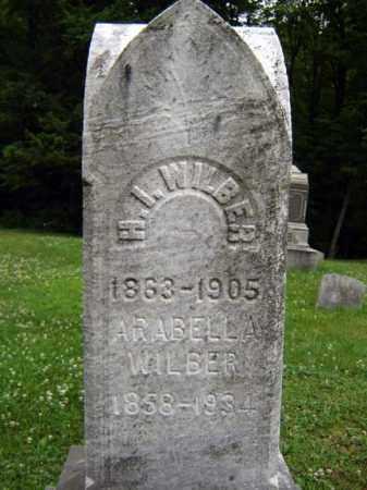 WILBER, ARABELLA - Schenectady County, New York | ARABELLA WILBER - New York Gravestone Photos