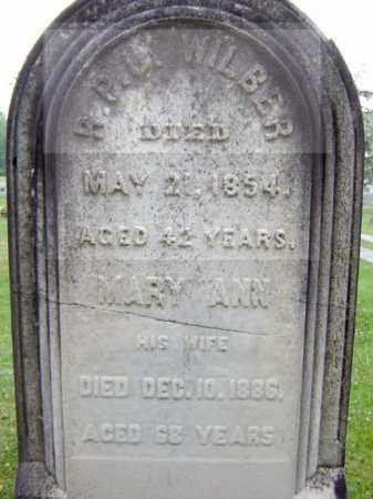 WILBER, MARY ANN - Schenectady County, New York | MARY ANN WILBER - New York Gravestone Photos