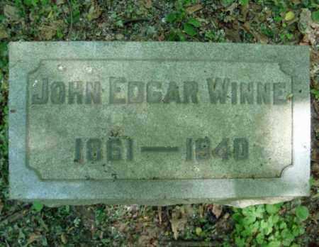 WINNE, JOHN EDGAR - Schenectady County, New York   JOHN EDGAR WINNE - New York Gravestone Photos