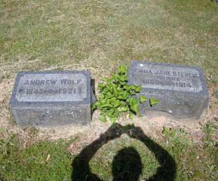 WOLF, ANDREW - Schenectady County, New York | ANDREW WOLF - New York Gravestone Photos
