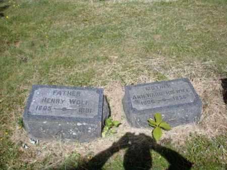 WARD WOLF, ANN - Schenectady County, New York | ANN WARD WOLF - New York Gravestone Photos