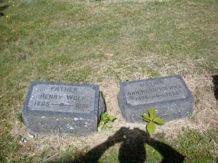WARD WOLF, ANN - Schenectady County, New York | ANN WARD WOLF - New York Gravestone Photos